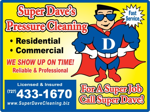 Superdavecleaning on pressure washing tampa